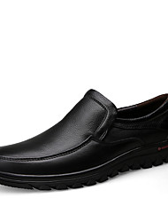 Men's Soft Line Breathable Genuine Leather Shoes for Office/Party Man's Dress Shoes