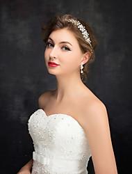 Women's / Flower Girl's Rhinestone / Alloy / Imitation Pearl Headpiece-Wedding / Special Occasion Headbands 1 Piece