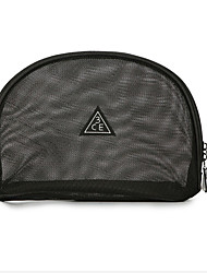 Mesh Makeup Bag Transparent Black Wash Bag Bag To Take It On