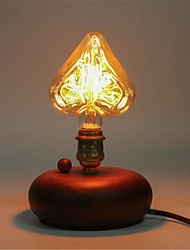e27 Edison 40w luz da estrela lâmpada&lâmpada coração lâmpada incandescente decorativo (AC220-240V)