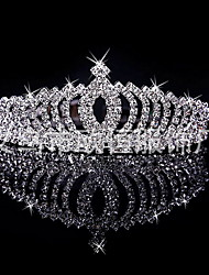 Korean Flower Girl's Silver Alloy Tiaras