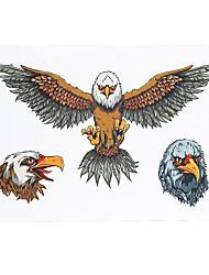 1 Tatouages Autocollants Séries animales Non Toxic / Motif / Bas du Dos / WaterproofHomme / Femme / Adulte flash TattooTatouages
