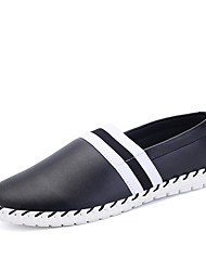 Men's Casual Leather Shoes Slip-on Loafers Shoes for Outdoor Or Trips