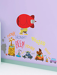 AOFU Cartoon Wall Stickers Plane Wall Stickers Decorative Wall Stickers,Home Decoration Wall Decal ZTP002