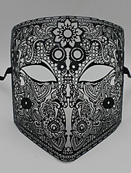 Medieval knight laser cutting hollow metal shield mask6002A1