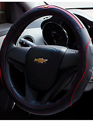 Imported Leather Steering Wheel Cover