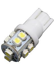 10x super blanc t10 / 921/912 plaque d'immatriculation tag ; intérieur 10-conduit ampoules cms