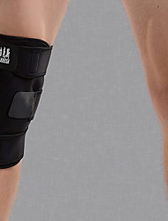 Unisex Knee Brace Eases pain Protective Adjustable Wearproof Basketball Football Running Sports Outdoor Nylon Black