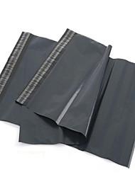 Fábrica de Yiwu bolsas mensageiro 25 * 35 escuros destrutiva através de sacos de correio bolsas atacado por embalagem 100