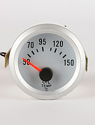 "IZTOSS car and motorcycle 2"" 52mm LED Thermometer oil Temperature Temp Meter Gauge WITH SENSOR"