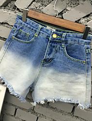 Women's Blue Shorts Pants,Simple