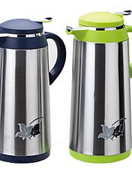 acier inoxydable Thermos liner impression pot de café en verre 1.3l