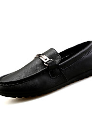 Men's Shoes Casual Loafers Black/White/Brown