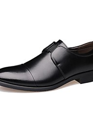 Westland® Men's Leather Oxfords Comfort/Pointed Toe  Office & Career/Party & Evening/Casual Low Heel/Brown/Black