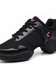 Women's Breathable Mesh Height Increasing Dancing Shoes with 5 cm Height