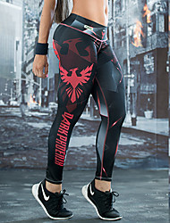 Women's Polyester Medium Print Legging,Print ONE-SIZE fits S to M, please refer to the Size Chart below.