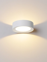 lndoor 3W LED Wall Lamp AC100-265V Round Fashion Aluminum Sconce bedroom Decorate Wall Lights