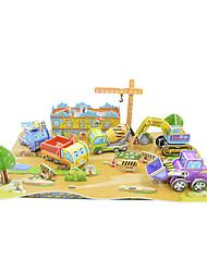 Пазлы DIY игрушки / Строительные блоки / Действие рис / Логические игрушки Строительные блоки DIY игрушки Квадратная 134Бумага /