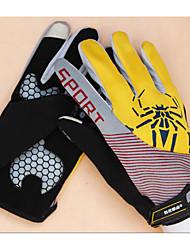 vélo équitation remise en forme des gants de tous les hommes doigt anti- lutte gants de course de moto