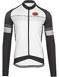 Sports Bike/Cycling Tops Men's Long Sleeve Wearable / Windproof / Ultra Light Fabric /Warm LYCRA® / Terylene