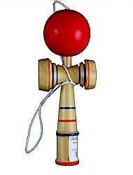 классический послевкусие Kendama игра-головоломка игрушка - дерево + красный