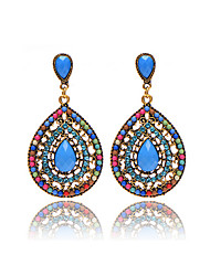 Hot Sale Brand Design Bohemian Water Drop Earrings Vintage Fashion Dangle Earrings For Women Accessories
