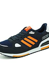 Femme-Décontracté-Bleu / Jaune / Orange-Talon Plat-Confort-Sneakers-Tulle