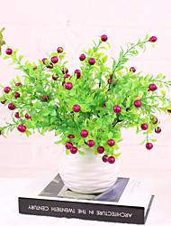 Hi-Q 1Pc Decorative Flower Golden Oranges Wedding Home Table Decoration Artificial Flowers