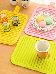 Silicone Rectangulaire Sets de table
