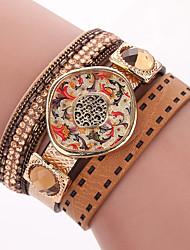 Boutique PU Bracelet Natural Crystal Bracelet Paris Fashion Models Show The Bracelet
