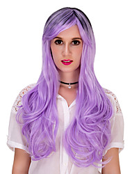 Purple long curly hair.WIG LOLITA, Halloween Wig, color wig, fashion wig, natural wig, COSPLAY wig.