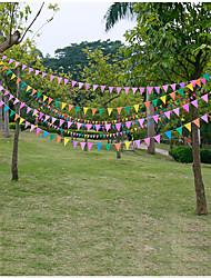 Accessori per feste Accessori per costumi e travestimenti Compleanno Rustico Tema Other Non personalizzato Cartancino Multicolore