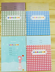 32K Cartoon Pupils Exercise Book A5 Lovely Notebook (Random Colors)