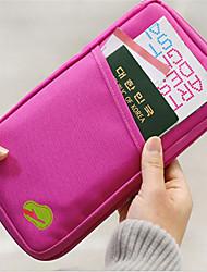 viajar bilhete de identidade passaporte pacote de viagem saco cartão da carteira no exterior multifuncional anti-roubo comprimento do saco