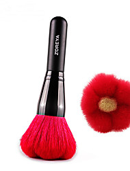 1pc Professional Make Up Blush Wool Brush