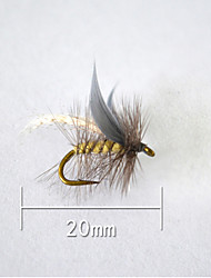"1 pcs Hard Bait Gray 5 g/1/6 oz. Ounce,20 mm/<1"" inch,Soft Plastic Bait Casting"