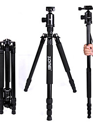 Zomei Portable Camera Magnesium Aluminium Tripod Monopod Tripod With Ball Head Pocket - Z818