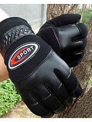 cuir épais automne froid et l'hiver plein doigts des gants chauds voiture korean gants de sport de coureur de moto pour hommes