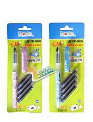 stylo neige véritable changement-fluide directe sac stylo à encre étudiant fp-5009 blankly stylo encre de série sac 4