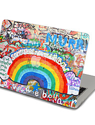 MacBook Front Decal Sticker Rainbow Wall  For MacBook Pro 13 15 17, MacBook Air 11 13, MacBook Retina 13 15 12