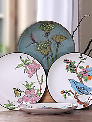Hand-painted Ceramic Plate Creative Characteristic Fish Plate (Design Random)
