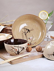 Tableware Ceramic Bowl Job Suits Characteristics