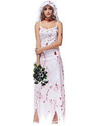 Women's Princess Zombie Ghost Bride Halloween Costume