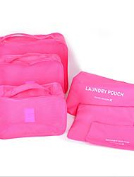 multi-funcional saco de armazenamento mala de viagem roupa impermeável cueca seis peças de acabamento saco