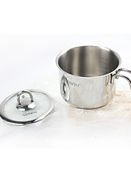 Stainless Steel Milk Pan with Cover 14cm in Diam/ Small Stockpot