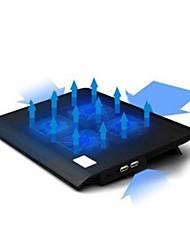 fãs usb refrigeração 4 ventilador de pé para 14 / 15,6 inche laptop de baixo ruído