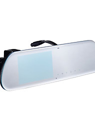 New Magnetic Suction 1080P HD Double Record Rear View Mirror Driving Recorder, No Border Driving Recorder