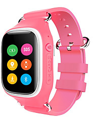 LEKEMI kids GPS Watch Tracker 1.44' Touch screen 500 mah battery SOS Call Geofence Alarm  GSM GPRS Locator