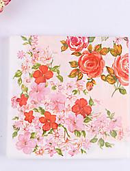 100% virgin pulp 20 pcs Flower Wedding Napkins