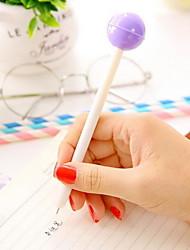 Lovely Fruit Lollipop Neutral Pen Black 0.5 mm